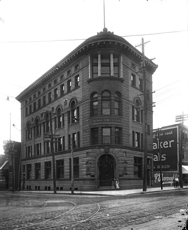 Royal Bank Branch, Notre Dame Street, Montreal, QC, 1911