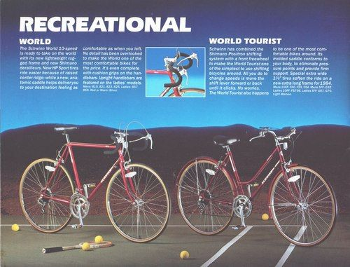 Schwinn World Tourist This Is It This Is The Bike That Kim Got