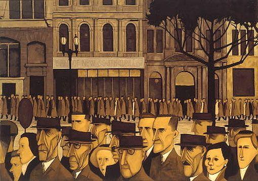 JOHN BRACK http://www.widewalls.ch/artist/john-brack/ #expressionism #figurative #art