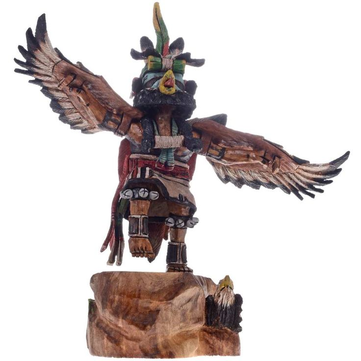recipe: hopi eagle dancer kachina [26]