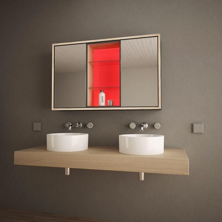 Bad Spiegelschrank Mit LED Beleuchtung Illumino Jetzt Bestellen Unter: ...
