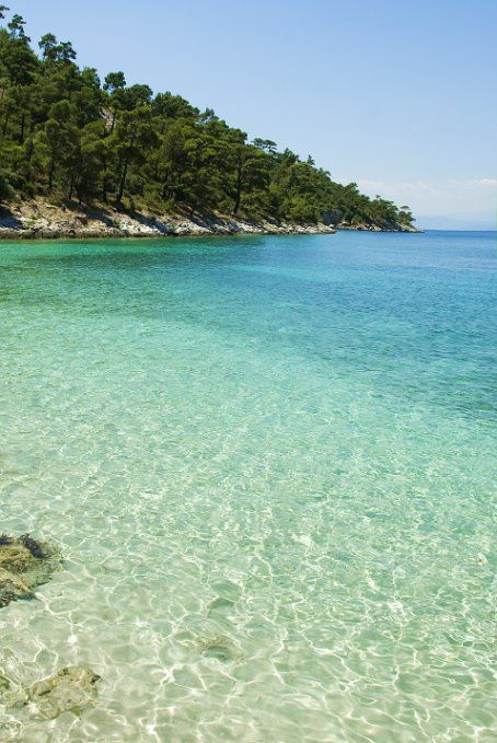 Pachis beach, Thasos, Greece