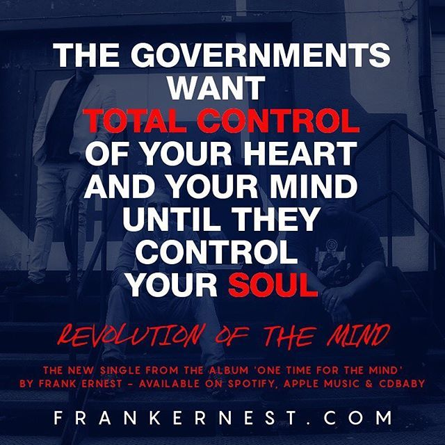 #RevolutionOfTheMind is the powerful new single from #FrankErnest available on @spotify @applemusic and @cdbaby It's the first track on our debut album #OneTimeForTheMind http://tinyurl.com/jvcyvq3 --- #newmusic #urban #soulrock #hillaryclinton #whitehouse #donaldtrump  #election #obama #ferguson #politics #inspiration #motivation #qotd #blacklivesmatter #racism #feminism  #wordporn #humanrights #equality  #europe #newmusic #unsigned #unsignedhype #newmusicmonday  #standwithus #europe…
