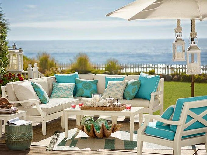 Charming Beachy Patio Furniture And Design