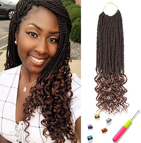 The Perfect Senegal Twist Curly Goddess Crochet Hair Synthetic Hair Extension Senegalese Braided Hairstyles Easy Senegalese Twist Hairstyles Braided Hairstyles