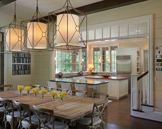 *: Dining Rooms, Kitchens, Ideas, Window, Kitchen Dining, Kitchen Design, Room Design, Light Fixture