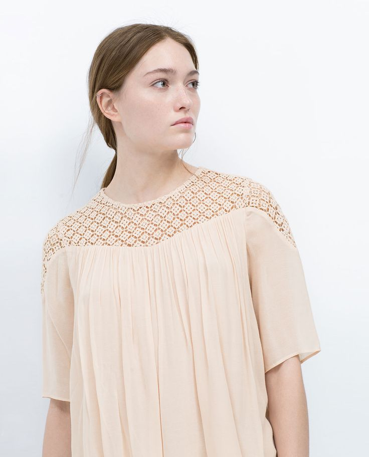 Image 2 of COMBINED TOP from Zara
