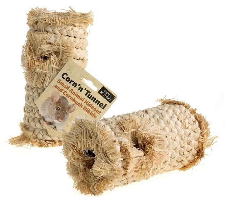 Corn 'n' Tunnel Toy for Small Animals to provide hideaway, chewing or nesting material. Suitable for #Hamsters, #Mouse, #Degu, #Chinchilla, #Rat or #Rabbits http://www.petcare247.co.uk/corn-x-change-toy-for-small-animals/