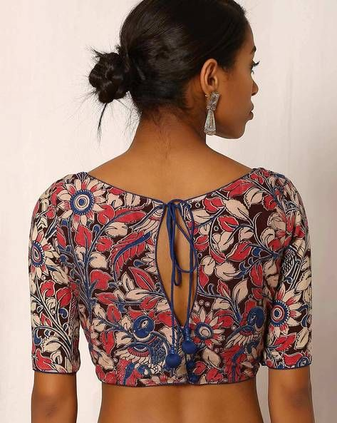 e681f5072060b Kalamkari Print Cotton Blouse