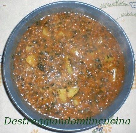 Destreggiandomi in cucina: Minestra di lenticchie #lentils #lenticchie #soup #minestra #recipe #primipiatti