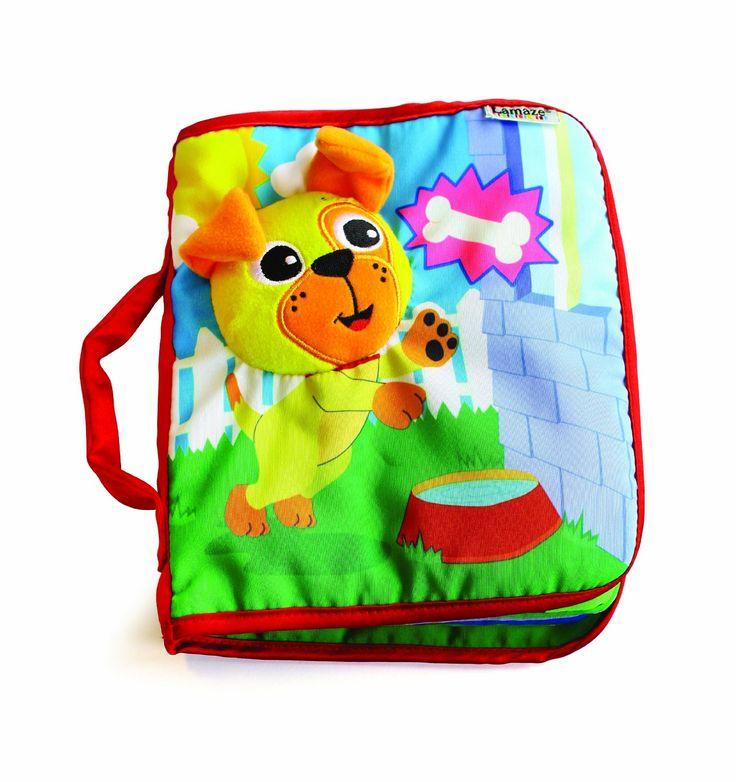 Lamaze Peek-A-Boo Puppy Cloth Book