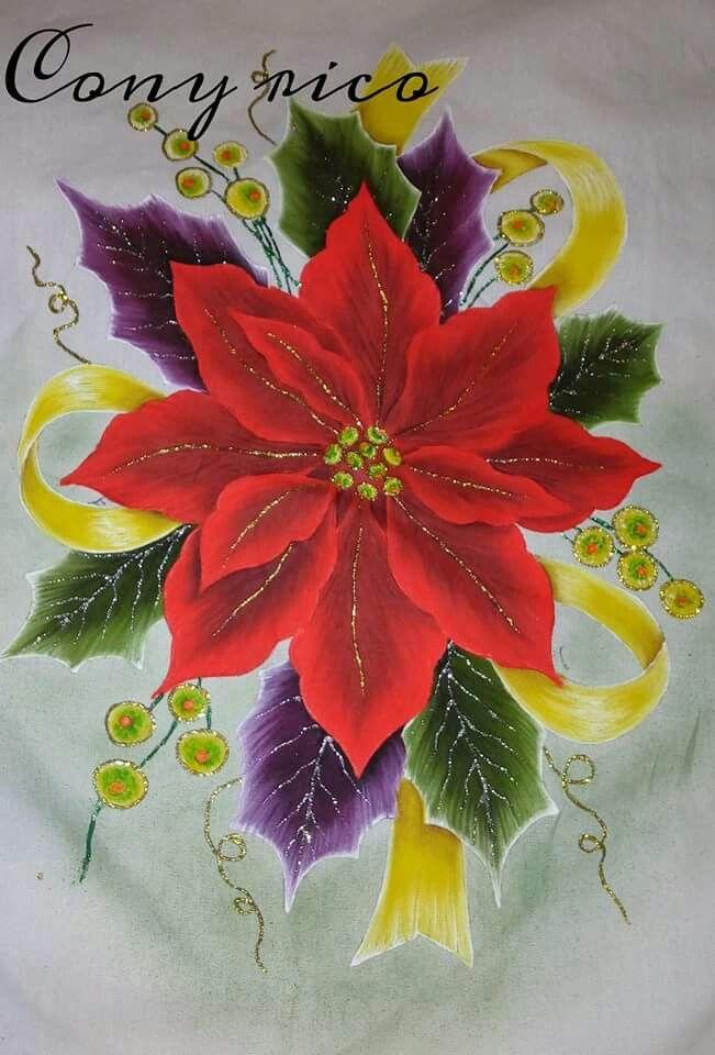 Las 419 mejores im genes sobre pintura en tela navidad en pinterest - Pintura en tela motivos navidenos ...