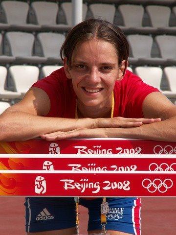 Mélanie Melfort, sélectionnée en équipe de France d'Athlétisme pour les Jeux Olympiques de Londres, est arrivée neuvième du concours à 1,93m © Melanie Melfort