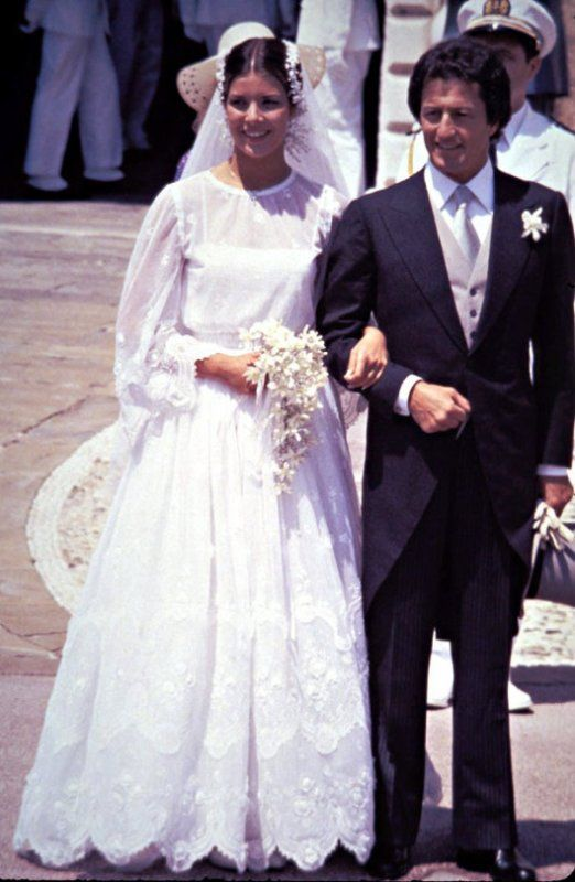 29 June 1978 - Mr. Philippe Junot & HSH Princess Caroline of Monaco