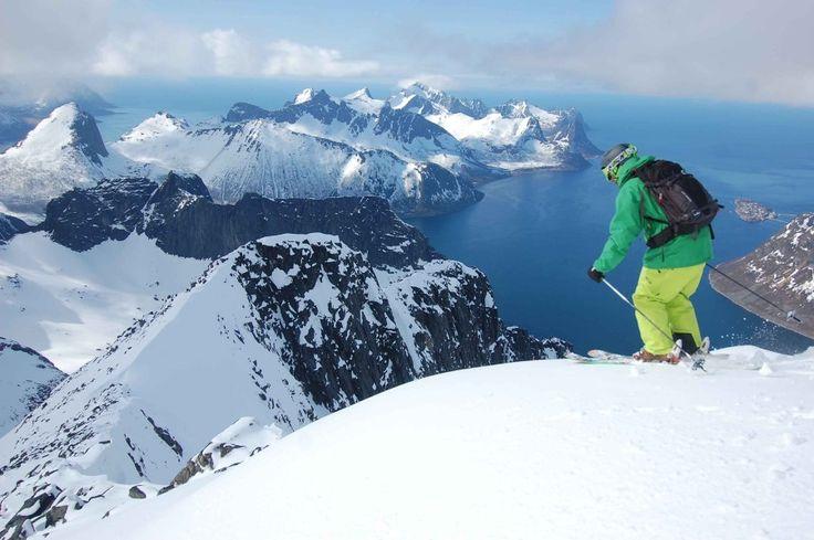 Skiing in Norway