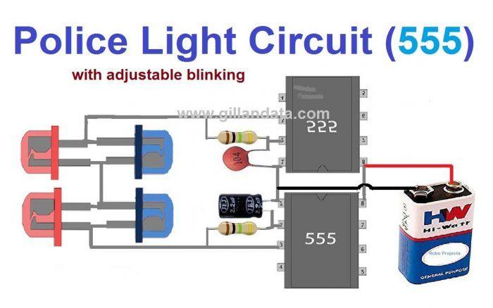 Wondrous Flashing Police Lights Circuit Gillanidata Com Electronics In Wiring Cloud Philuggs Outletorg