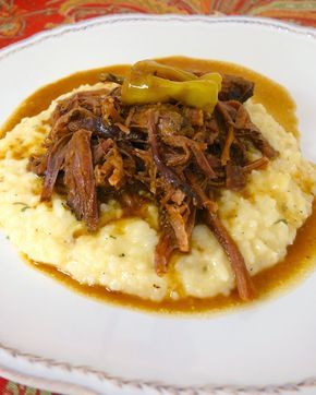 Mississippi Pot Roast {Slow Cooker}
