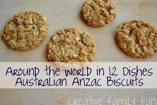 Around the World in 12 Dishes: Australia ~ Creative Family Fun