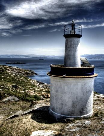 Punta Cantabal Light (Farol da Porta), Spain: Western Galicia