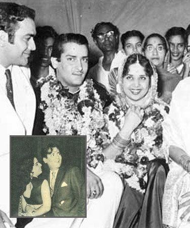 Geeta Bali and Shammi Kapoor
