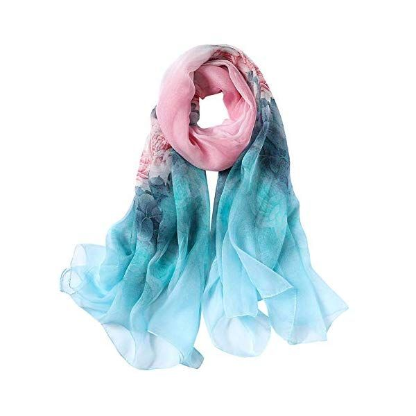Gorgeous And Delicate Silk Scarfs With Vibrant Print From Story Of Shanghai 100 Mulberry Silk Scarf Is Great As Silk Scarf Style Silk Headscarf Mulberry Silk