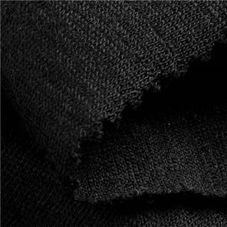 Merinojersey F80 schwarz
