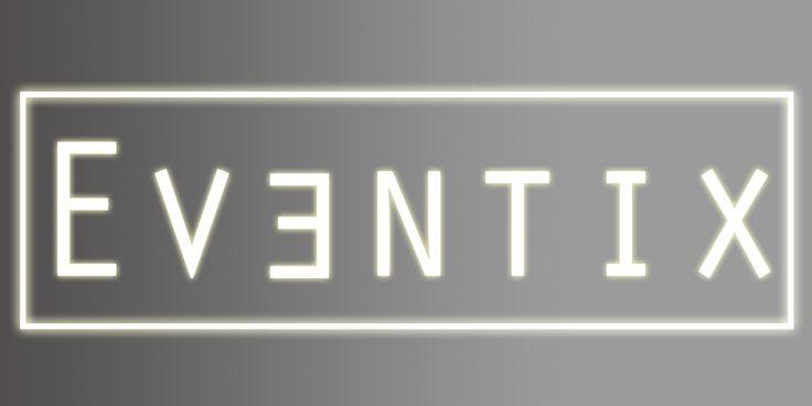 Logo made for EVENTIX. final assignment for a friend his 'web development'.
