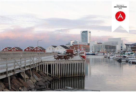 Stormen Cultur center in Bodø, Norway. Architect: DRDH Architects (ARK), Dark Arkitekter AS (LARK) Photo: David Grandoge