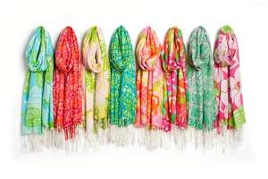 Lily Pullitzer scarves.