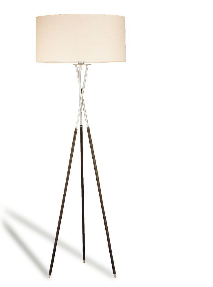 Unique Diameter lampshade cm tripode floor lamp cotton luxcambra lampada lampe floorlamp floor lampadaire lampadaastelo stelo Lamparadepie pie
