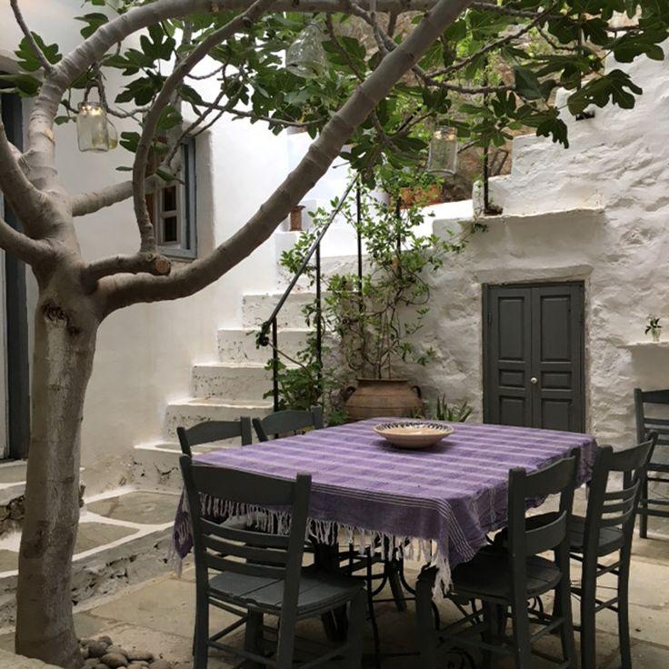 Les 25 meilleures id es de la cat gorie jardin grec sur - Deco terrasse la terrasse de style iles grecques et mediterraneen ...