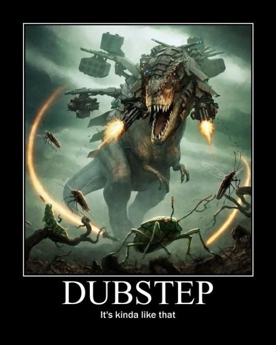 next time ur killin zombies on the xbox, play dubstep...its the best thing in the world...