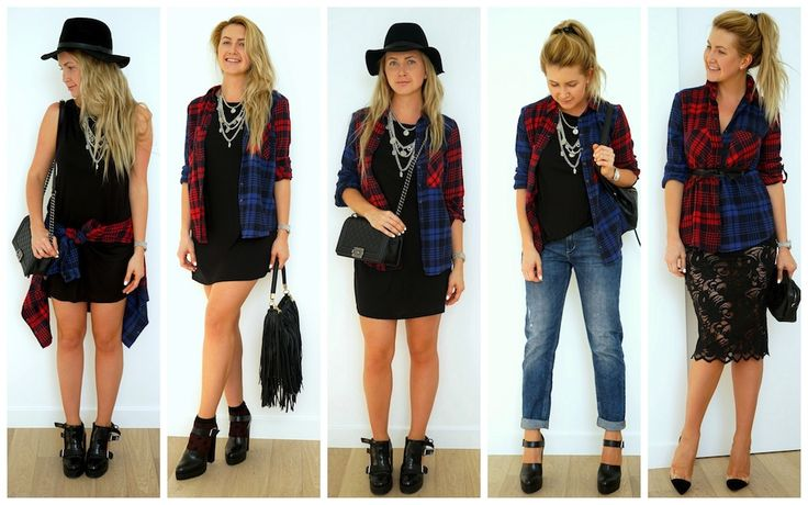 5 ways how to wear Red plaid shirt http://ivanova-gazinskaya.ru/krasnaya-rubashka-v-kletku-3-obraza/ 5 способов с чем надеть красную клетчатую рубашку