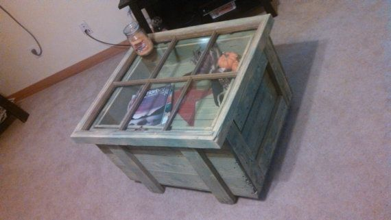 Hey, I found this really awesome Etsy listing at https://www.etsy.com/listing/168354096/repurposed-window-top-coffee-table