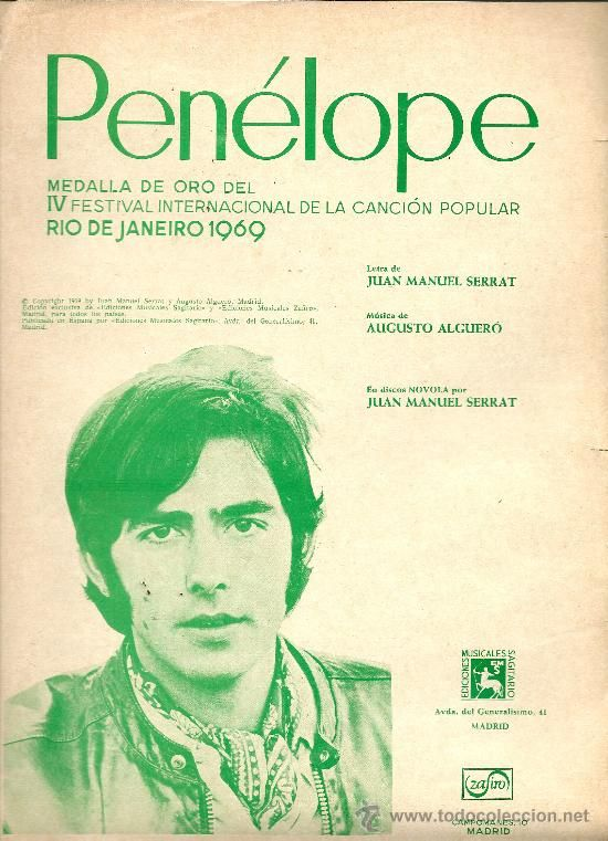 'Penélope', de Joan Manuel Serrat