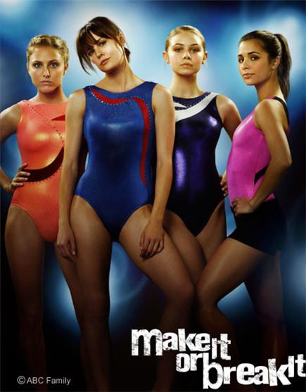 Because I was a gymnast once upon a time there is still a place in my heart that loves the whole gymnastics world and this show sees right into it...well for the most part