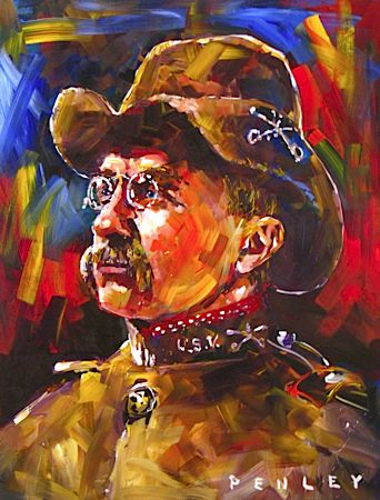 Teddy Roosevelt by Steve Penley                                                                                                                                                                                 More