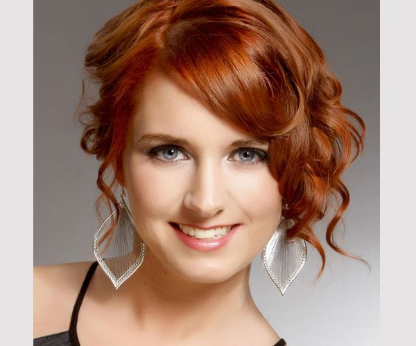 Wedding Hairstyle For A Round Face: 66 Best Images About Short Hair- Round Face On Pinterest