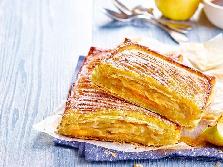 En Auvergne, c'était le dessert qu'on emportait pour le déjeuner des grandes journées de moisson. Aujourd'hui, pour nous, ce gros chausson aux pommes fondantes...