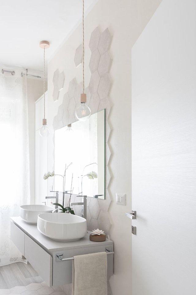 Arredo Bagni E Sanitari.Arredo Bagno Moderno Design Pulito Dalle Linee E Colori Luminosi