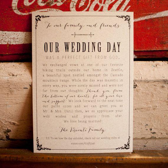 Best 25+ Marriage announcement ideas on Pinterest | Elopement ...