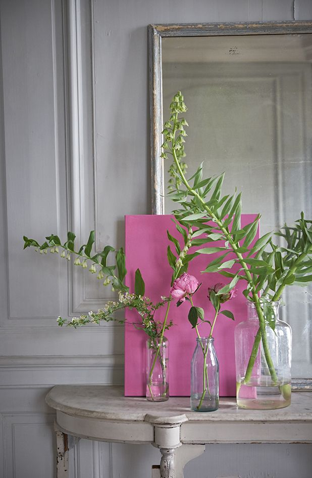 Tricia Guild. The best. KAGADATO selection. **************************************Designers Guild Vreeland Pink shade
