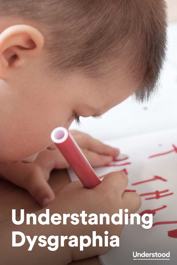 Understanding #dysgraphia—what may cause it, what the symptoms are and how professionals can help