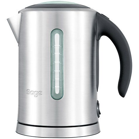 Buy Sage by Heston Blumenthal the Soft Open Kettle, Silver Online at johnlewis.com