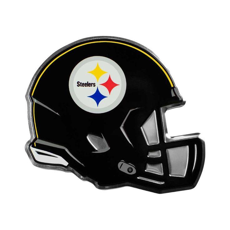Pittsburgh Steelers Helmet Auto Emblem - (Promark)