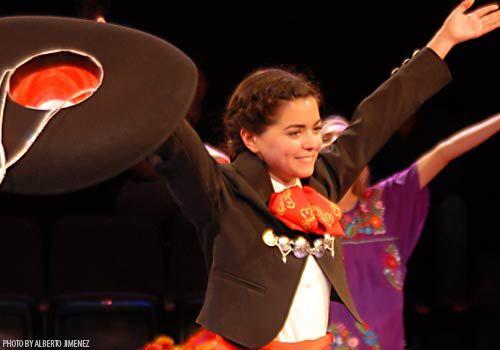 Aisha San Roman: Mariachi Girl Teatro Vivo