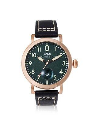 61% OFF AVI-8 Men's 4020-05 Lancaster Bomber Black/Green Stainless Steel Watch
