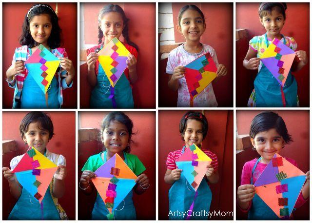 Sankranti Kite craft 1 Sankranti 2013a photo