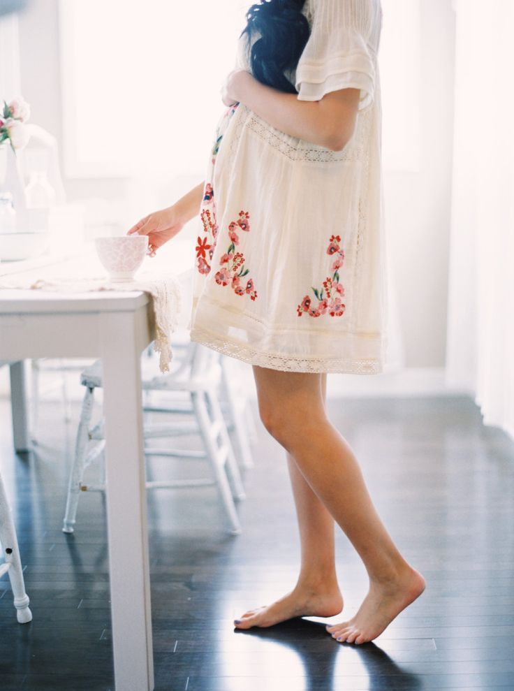 Can't wait to hear her little footsteps piddling on the hardwood floor… … – Mama Fashion