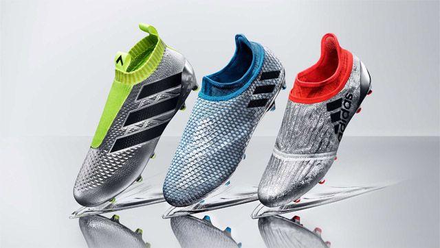 Adidas lança Mercury Pack com novas chuteiras para 2016